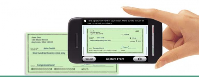 Deposit Your Checks By Smart Phone!